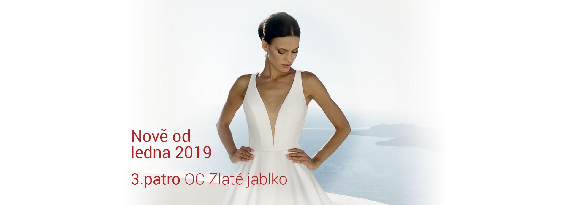 1b583ed86ee6 Svatební šaty Luxusní svatební šaty od předních světových společností  udělají Váš svatební den nezapomenutelným.